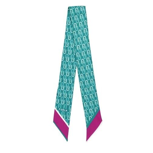 furla -  Tücher & Schals - Metropolis Mini Bandeau 6X100 - in grün - für Damen