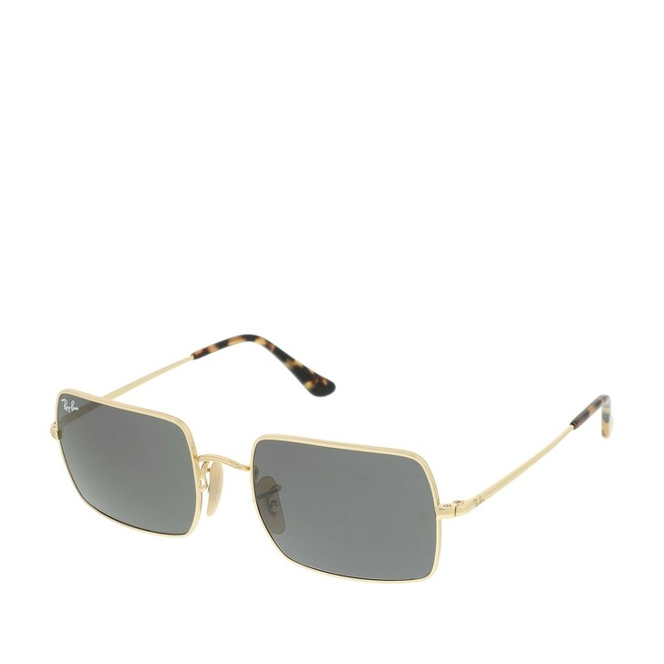 Sonnenbrille, Ray-Ban, Unisex Sunglasses Icons Shape Family 0RB1969 Gold