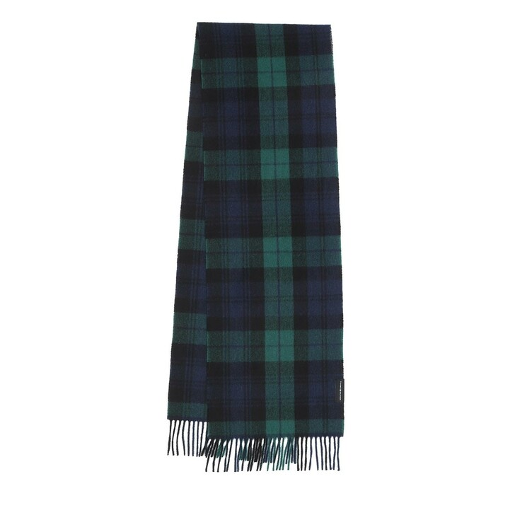 Schal, Tommy Hilfiger, Uptown Wool Scarf Check Green Check