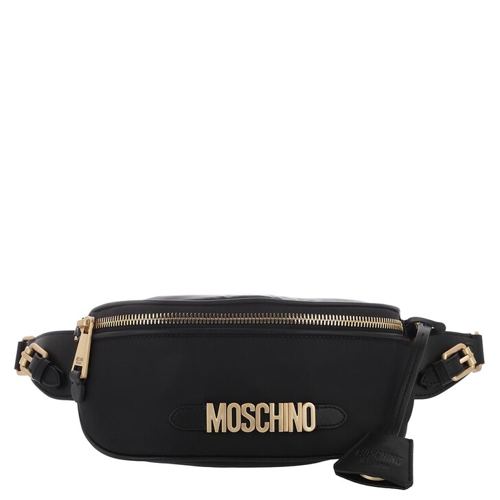 Handtasche, Moschino, Accessories Black