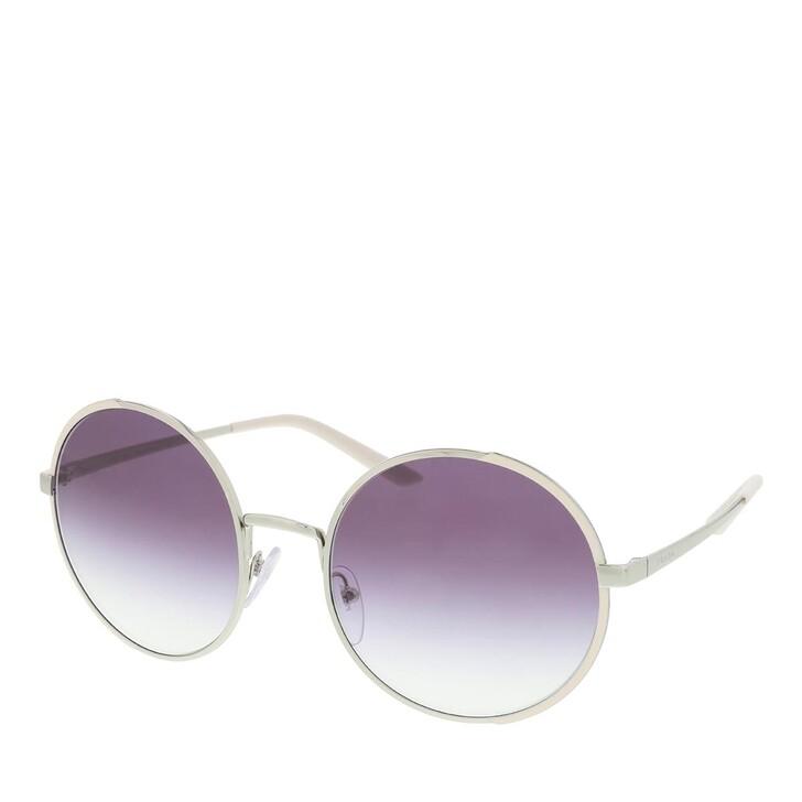 Sonnenbrille, Prada, Women Sunglasses Conceptual 0PR 59XS Silver/Ivory