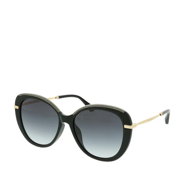 Sonnenbrille, Jimmy Choo, PHEBE/F/S Black Gold Glitter