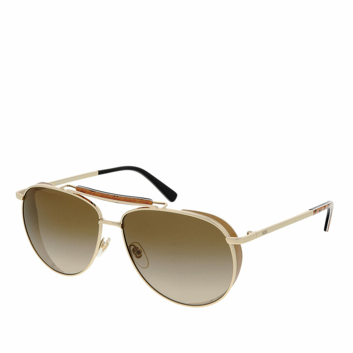 Sonnenbrille, MCM, MCM119S Shiny Gold/Brown