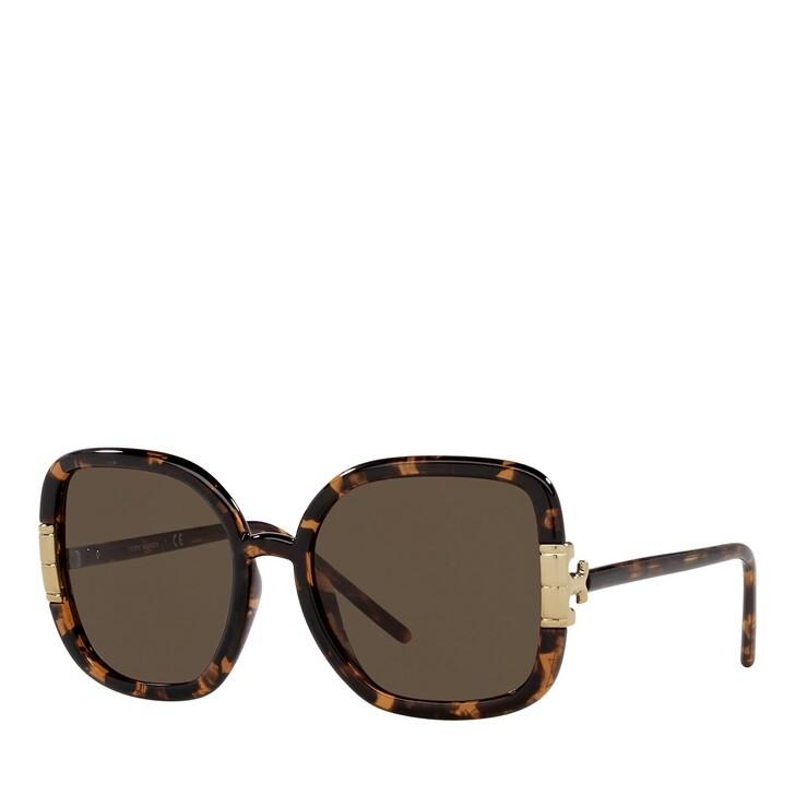 Sonnenbrille, Tory Burch, 0TY9063U DARK TORTOISE