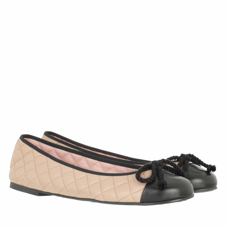 shoes, Pretty Ballerinas, Ella Ballerinas Black Beige
