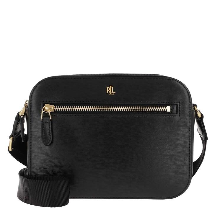 Handtasche, Lauren Ralph Lauren, Hayes Crossbody Bag Saffiano Black
