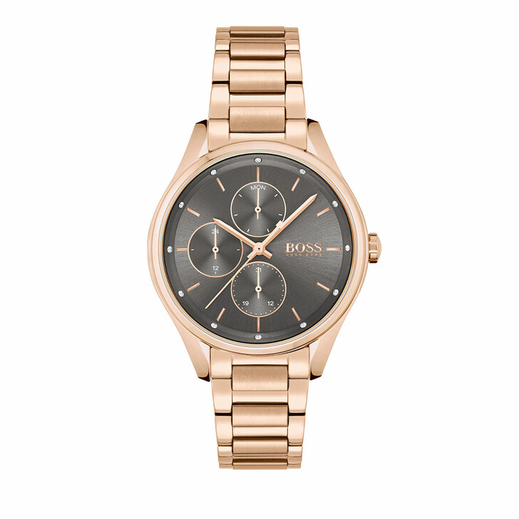 watches, Boss, Watch Grand Course Rose Gold