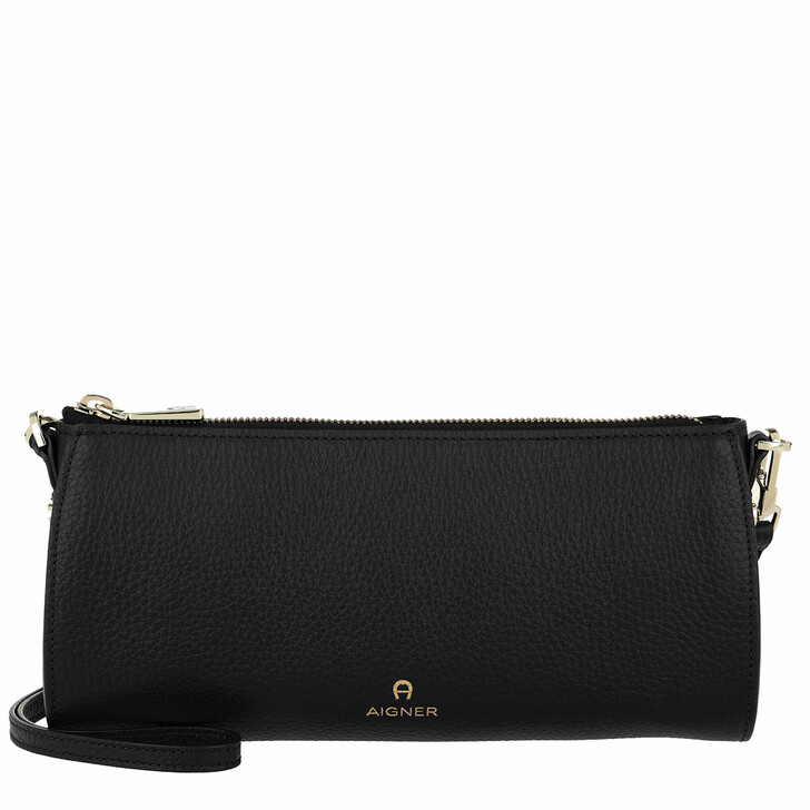 Handtasche, AIGNER, Ivy Handle Bag Black