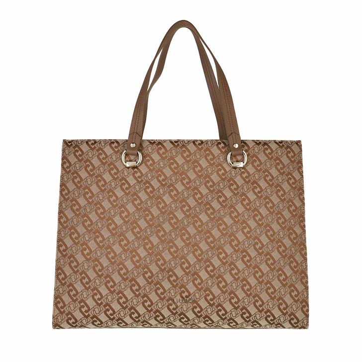 bags, LIU JO, Xl Tote Tortoise Shell