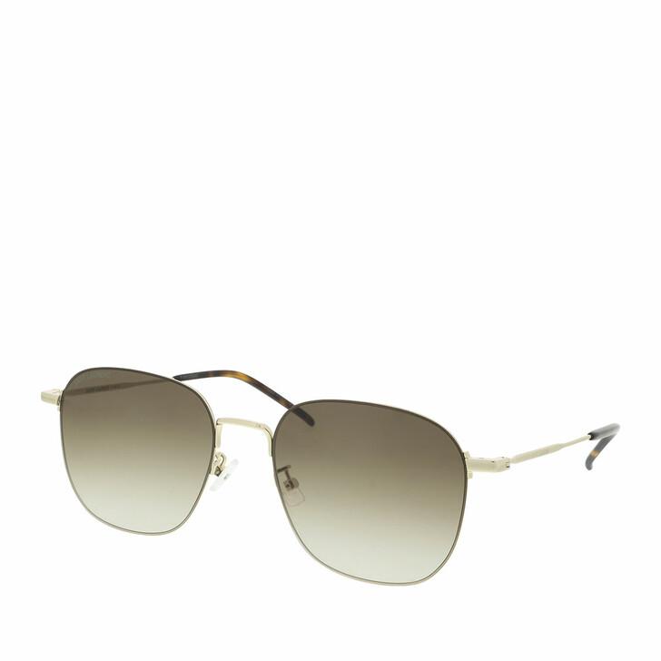 sunglasses, Saint Laurent, SL 388/K WIRE-004 57 Sunglass WOMAN META Gold