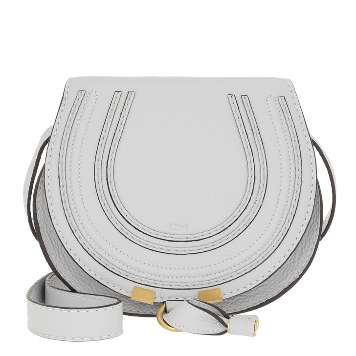 Handtasche, Chloé, Marcie Shoulder Bag Small Light Cloud
