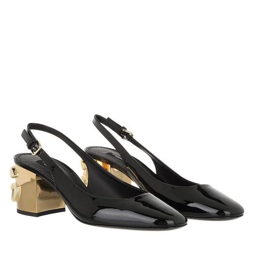 dolce&gabbana -  Pumps & High Heels - Sligback Pumps - in schwarz - für Damen