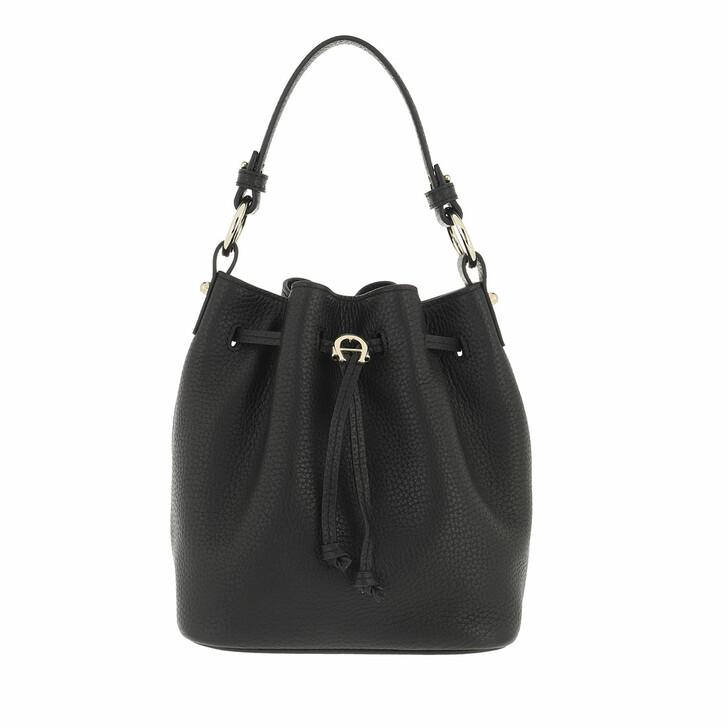 bags, AIGNER, Tara Handle Bag Black