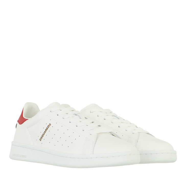 shoes, Dsquared2, Logo Sneakers White