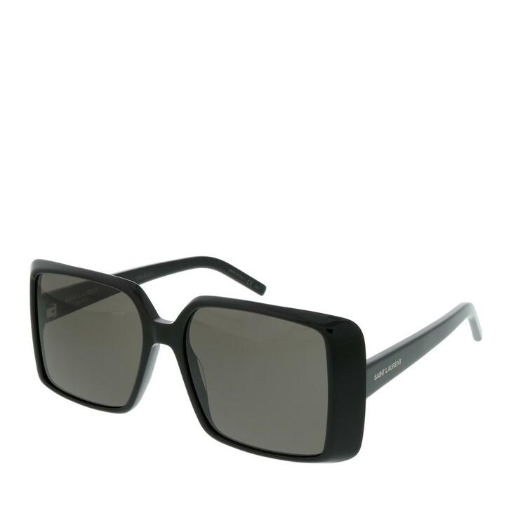Sonnenbrille, Saint Laurent, SL 451-001 56 Sunglasses Woman Black