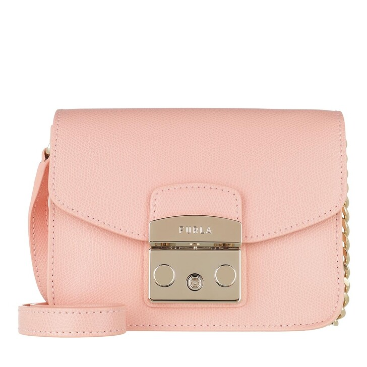 Handtasche, Furla, Metropolis Mini Crossbody Candy Rose