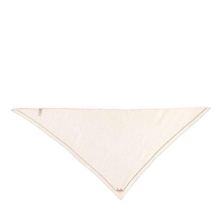 Schal, Lala Berlin, Triangle Solid Logo M Scarf Peony