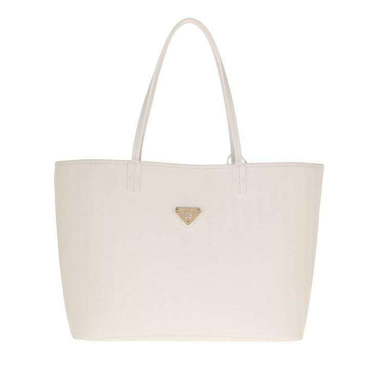 Handtasche, Maison Mollerus, Bern Shopping Bag Snow/Gold