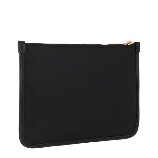 Moschino Clutches & Sacs de Soirée, Print Clutch Logo en black - pour dames