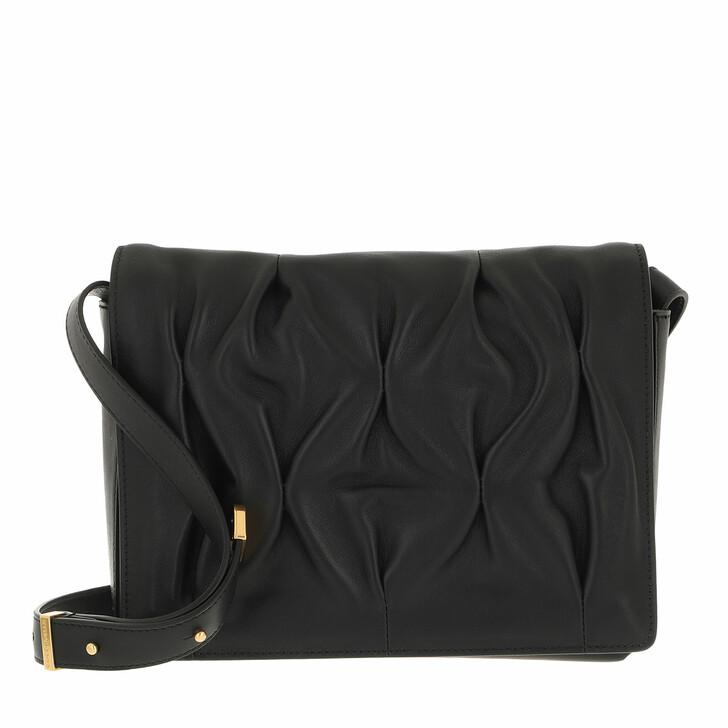 bags, Coccinelle, Handbag Smooth Calf Leather Soft  Noir