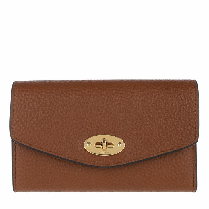 wallets, Mulberry, Darley Medium Wallet Leather Oak