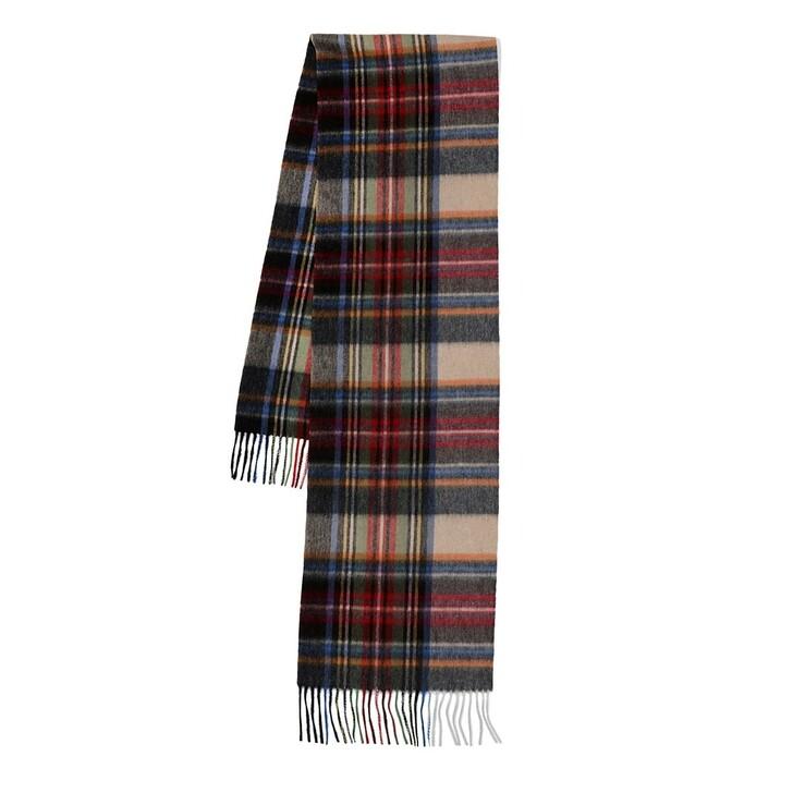 scarves, Roeckl, Scottish Tartan Multi Navy
