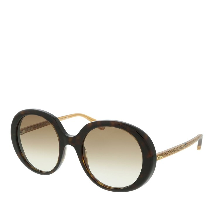 Sonnenbrille, Chloé, Sunglass WOMAN BIO ACETAT HAVANA-BROWN-BROWN