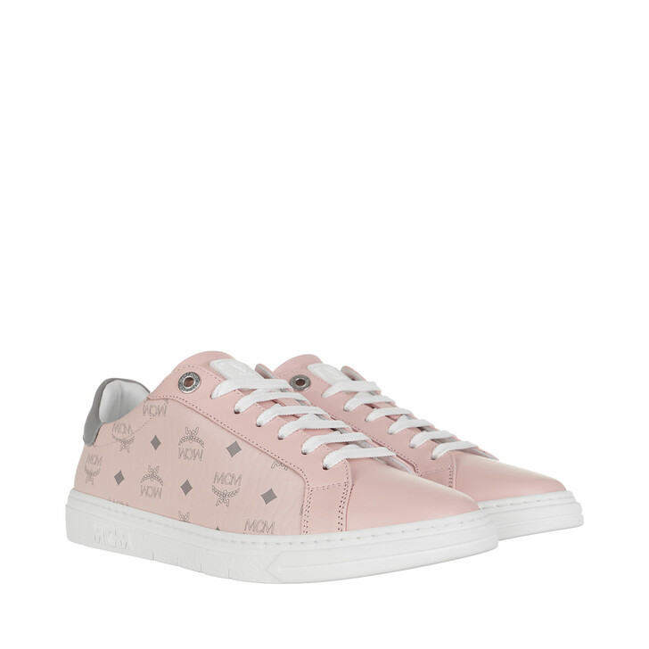 Schuh, MCM, Light Terrain Derby Visetos   Powder Pink
