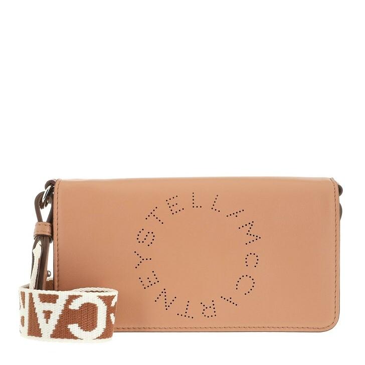 Handtasche, Stella McCartney, Mini Crossbody Bag Eco Soft Alter Leather Camel