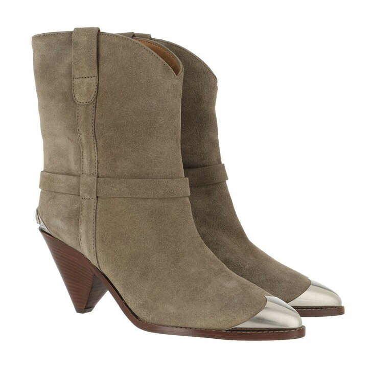 Schuh, Isabel Marant, Limza Boots Taupe