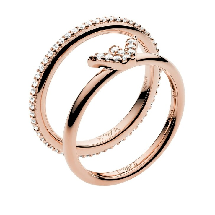 Ring, Emporio Armani, Ladies Ring Rosègold