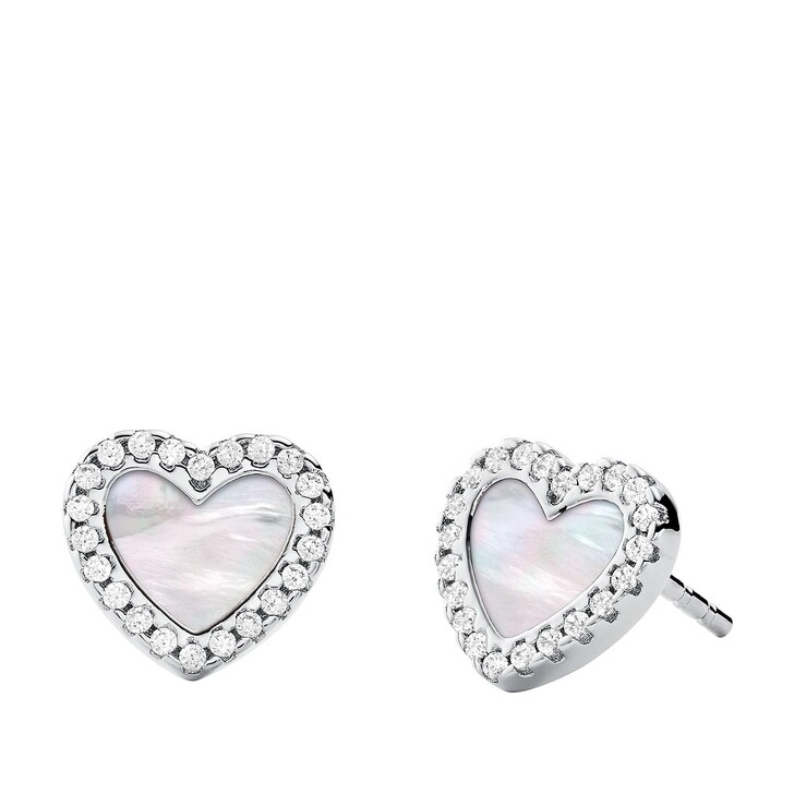 Ohrring, Michael Kors, Kors Love Earring Silver