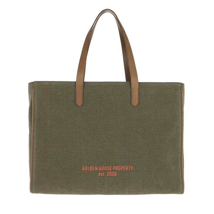 Handtasche, Golden Goose, Tote Bag Green/Brown/Orange