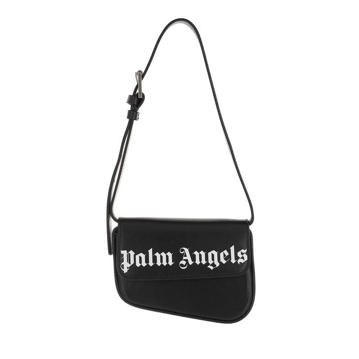 bags, Palm Angels, Crash Belt  Black White Black White