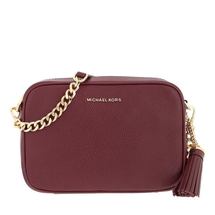 bags, MICHAEL Michael Kors, Medium Camera Bag Dark Berry