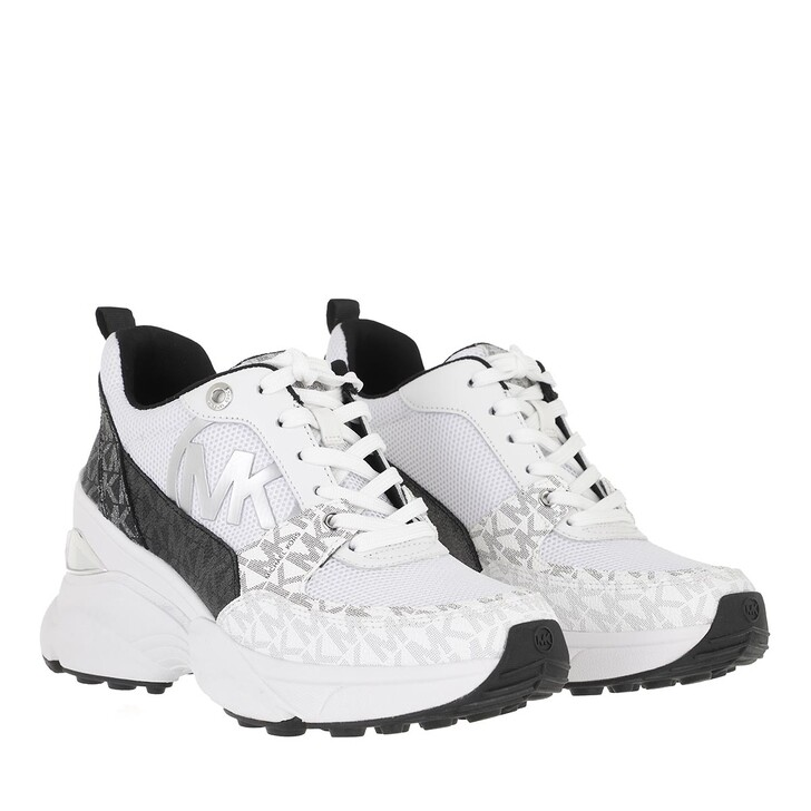 Schuh, MICHAEL Michael Kors, Mickey Trainer Black/White