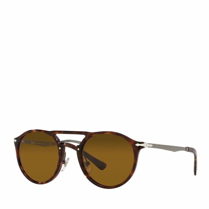 Sonnenbrille, Persol, 0PO3264S HAVANA /GUNMETAL