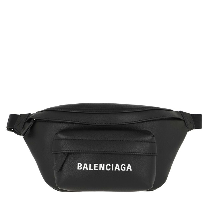 Handtasche, Balenciaga, Everyday XS Belt Bag Leather Black/White