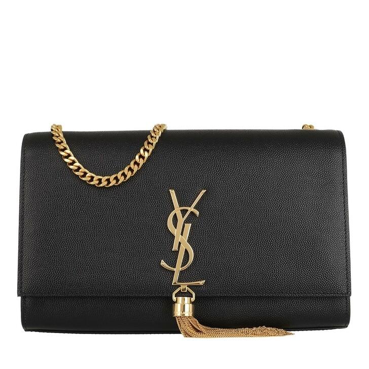 Handtasche, Saint Laurent, Monogramme Crossbody Bag Medium Black