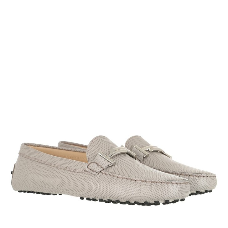 Schuh, Tod's, Loafers Leather Steam Grey