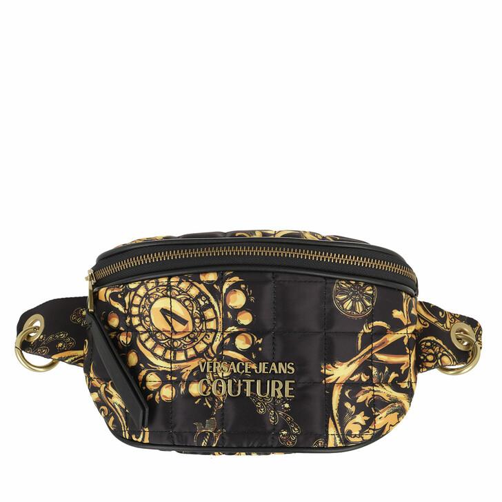 bags, Versace Jeans Couture, Borsa Marsupio Black/Gold