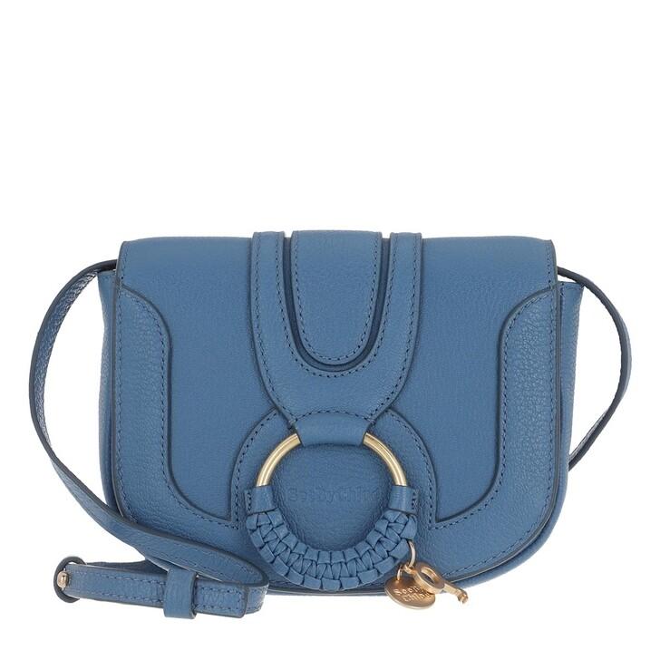 bags, See By Chloé, Hana Mini Crossbody Bag Moonlight Blue