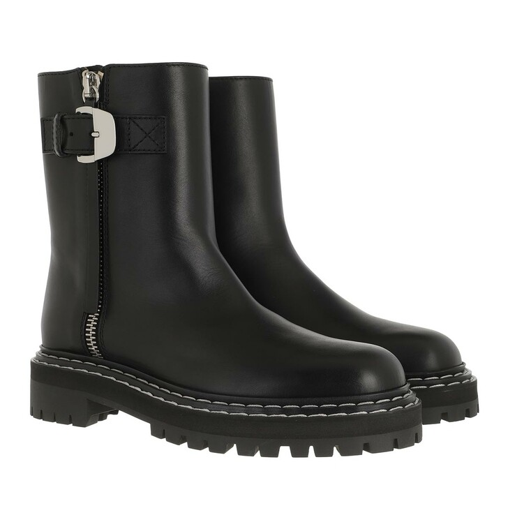 Schuh, Proenza Schouler, Ankle Boots Leather Black