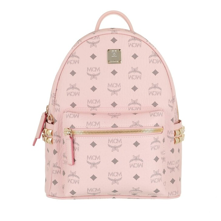 Reisetasche, MCM, Stark Backpack Small   Powder Pink