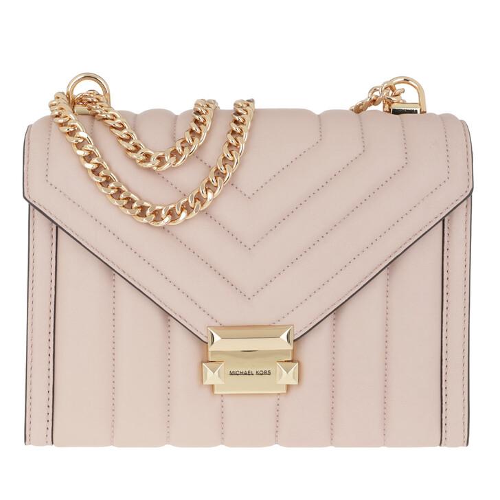 Handtasche, MICHAEL Michael Kors, Whitney LG Shoulder Soft Pink