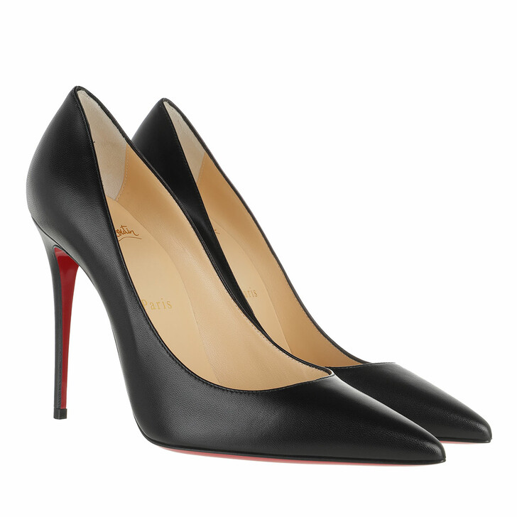 Schuh, Christian Louboutin, Kate 100 Pumps Leather Black