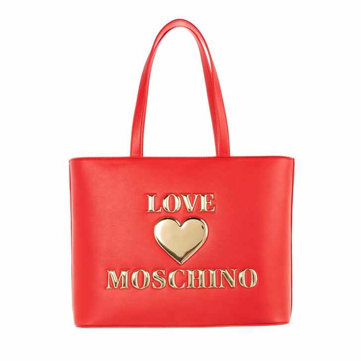 Handtasche, Love Moschino, Borsa Pu  Rosso