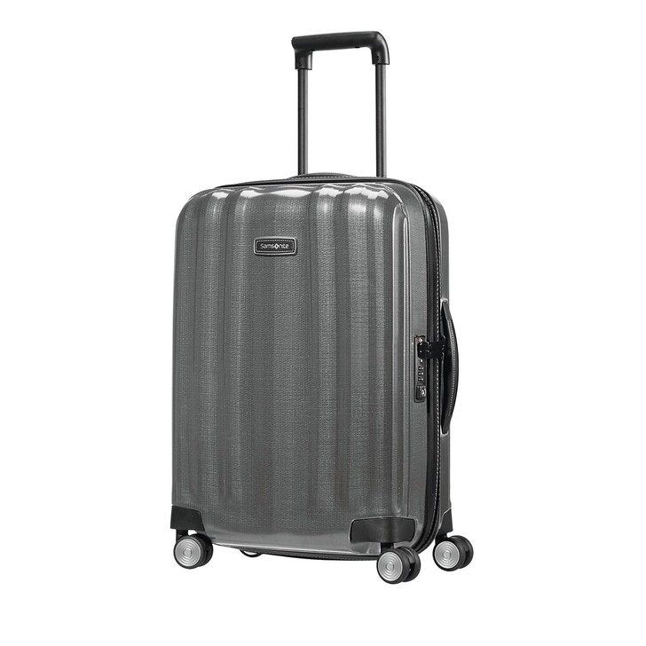Reisetasche, Samsonite, Lite Cube Trolley Dark Grey