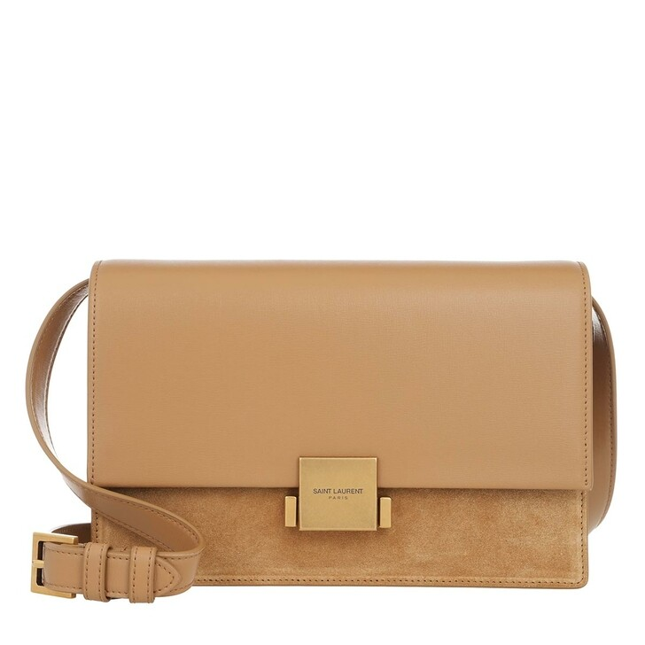 Handtasche, Saint Laurent, YSL Bellechasse Crossbody Bag Natural Tan