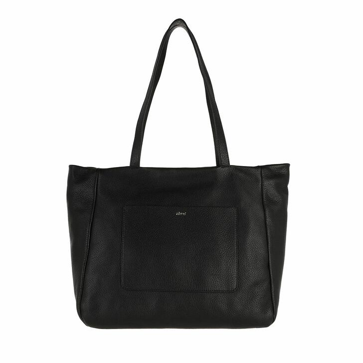 bags, Abro, Shopper RAQUEL big  Black/Gold
